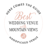Best Wedding Venue with Mountain Views